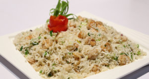 Prawns Fried Rice Recipe | Lazzat