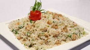 Prawns Fried Rice Recipe | Lazzat