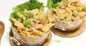 Sesame Chicken Pasta Salad Recipe | Masala Mornings