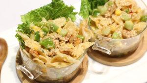 Sesame Chicken Pasta Salad Recipe | Masala Mornings