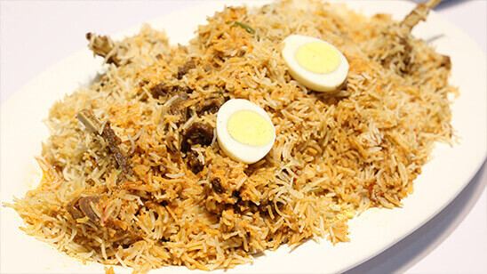 Spicy Chaanp Biryani   Quick Recipes