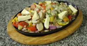 Vegetable Sizzler Recipe | Dawat