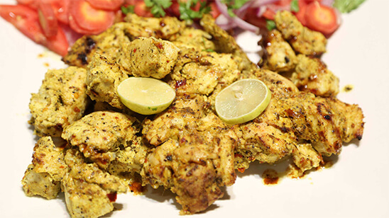 Chicken Malai Boti Recipe | Tarka