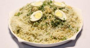 Haryali Jheenga Biryani Recipe | Lazzat