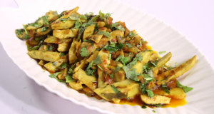 Achari Arvi Recipe | Tarka