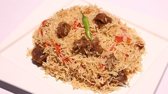 Beef Zafrani Pulao   Quick Recipes