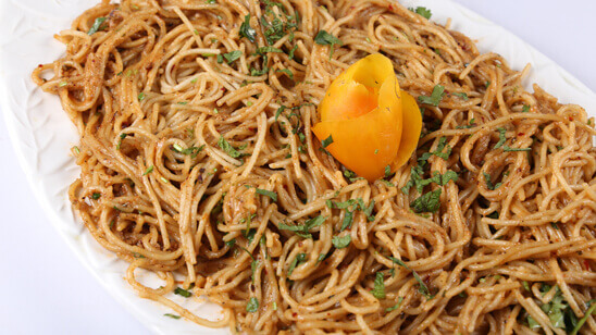Cheesy Garlic Butter Noodles Recipe | Tarka