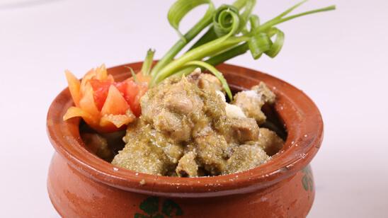 Chicken Green Handi Recipe   Masala Mornings