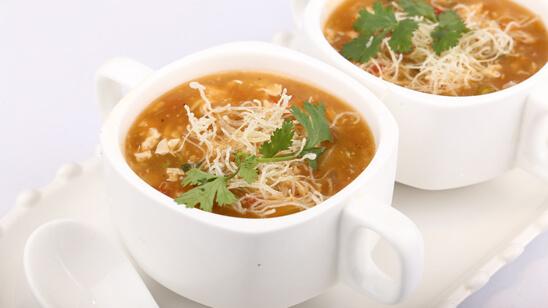 Chicken Manchow Soup Recipe | Masala Mornings