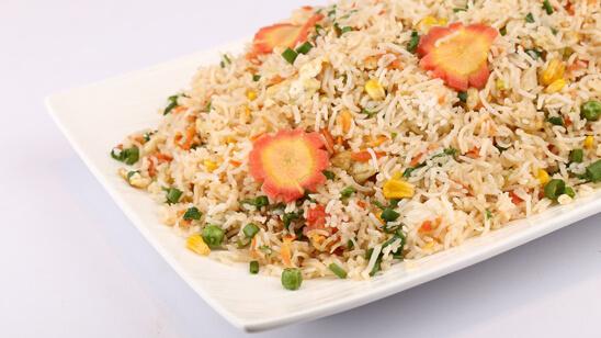 Egg Fried Rice Recipe | Dawat