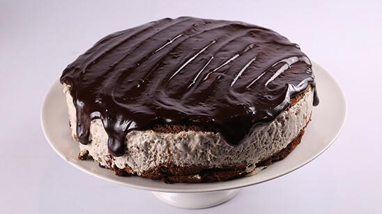 Frozen Mocha Cake With Choc Glaze | Food diaries