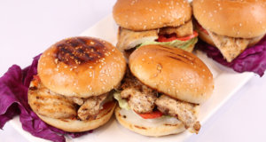 Grilled Chicken Sandwich Recipe | Dawa