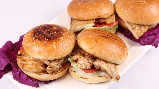 Grilled Chicken Sandwich Recipe | Dawa