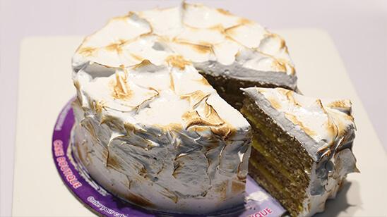 Lemon Meringue Cake | Quick Recipes
