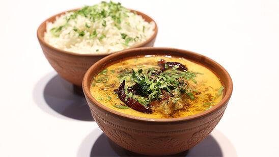 Palak Chicken Pakora Kadhi | Quick Recipes