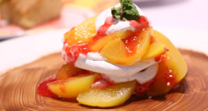 Peach Pavlova Recipe | Lively Weekends