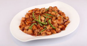 Smoked Chicken Manchurian Recipe | Tarka
