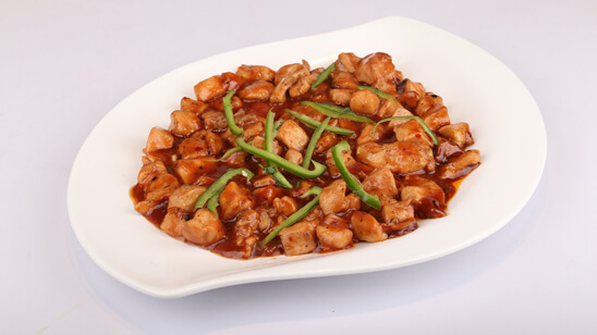 Smoked Chicken Manchurian Recipe | Tarka