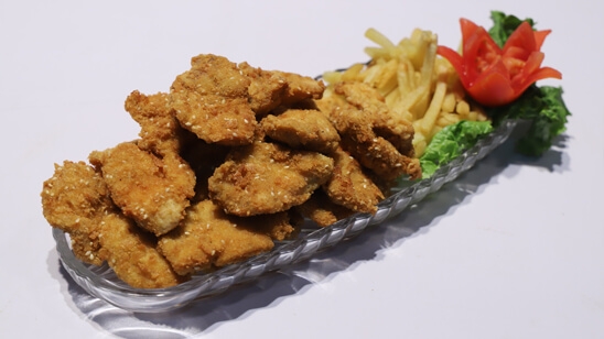 Sesame Chicken Bites Recipe   Masala Mornings