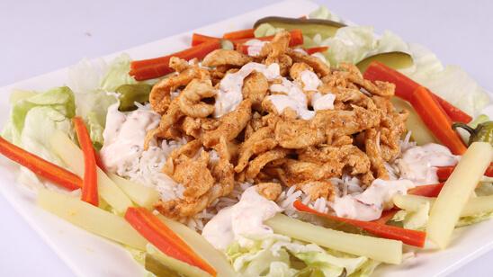 Shawarma Rice Platter Recipe   Flame On Hai
