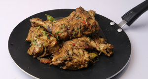 Tawa Chicken Fry Recipe | Tarka