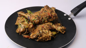 Tawa Chicken Fry Recipe | Tarka