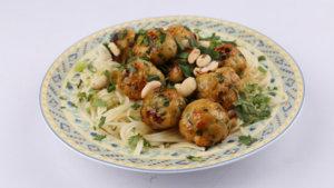 Thai Chicken Meatballs Recipe | Food Diaries