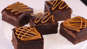 Toffee Brownies Recipe | Masala Mornings