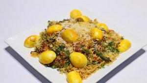 Egg Biryani Recipe | Dawat