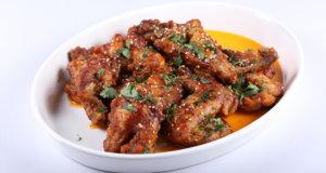 Fiery Chicken Wings Recipe | Tarka
