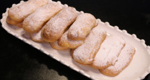 Italian Ladyfinger Biscuits Recipe | Food Diaries