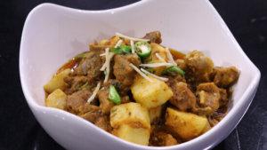 Aalu Gosht Ki Karahi Recipe | Flame On Hai
