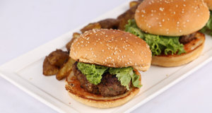 Beef Burgers Recipe | Food Diaries