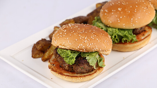 Beef Burgers Recipe | Food Diaries