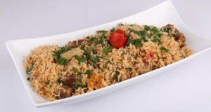 Beef Onion Pulao Recipe | Dawat