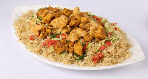 Chicken Barbeque Rice Recipe | Tarka