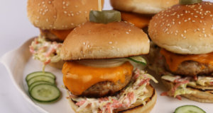 Chicken Burgers Recipe | Food Diaries
