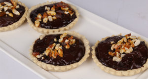 Chocolate Ganache Tarts Recipe | Food Diaries