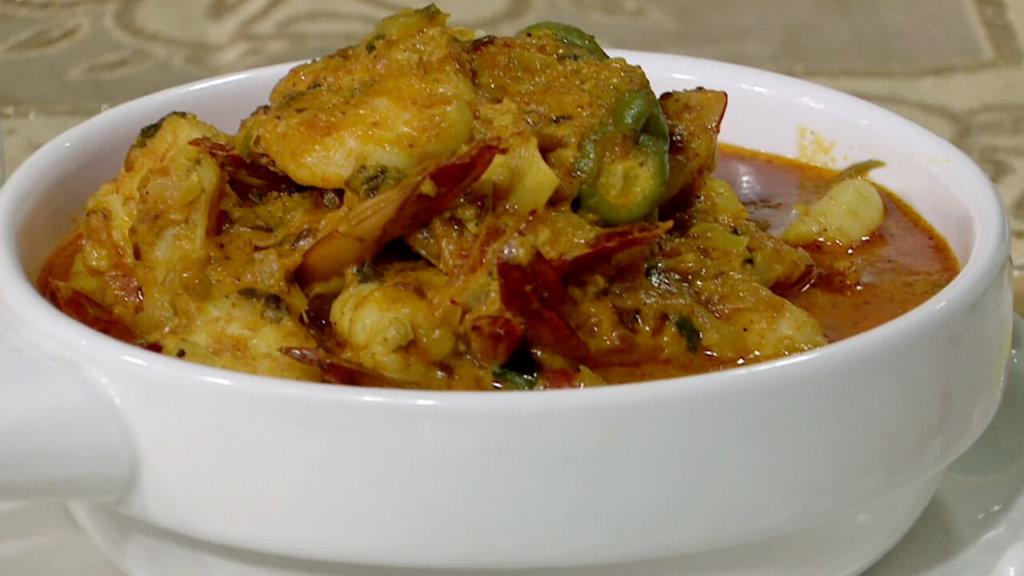 Coconut Prawn Curry Recipe | Tarka