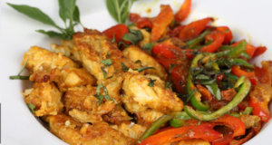 Capsicum Butter Fish Recipe | Tarka