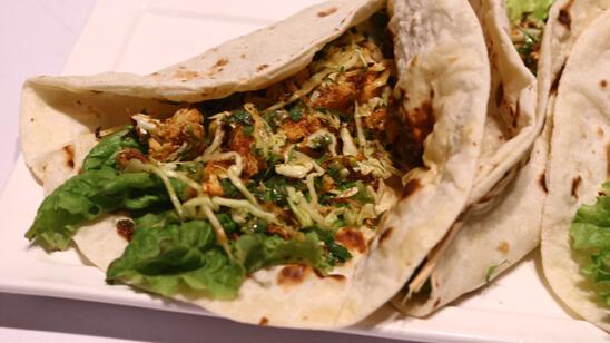 Cauliflower Tacos Recipe   Dawat