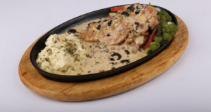 Chicken Cheese Steak with Mashed Potato Recipe | Lively Weekends
