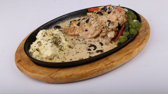 Chicken Cheese Steak with Mashed Potato Recipe   Lively Weekends