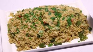 Green Masala Rice Recipe | Dawat