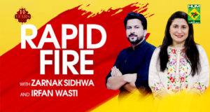 Rapid Fire with Zarnak Sidhwa & Irfan Wasti | Masala TV Recipes