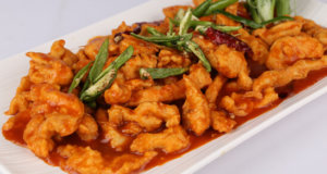 Schezwan Ginger Chicken Recipe | Lazzat