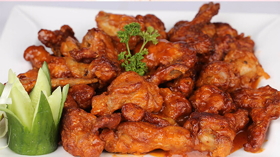 Thai Fry Chicken Wings Recipe   Masala Mornings