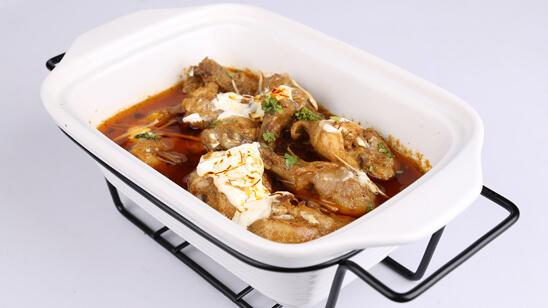 Zafrani Murgh Curry Recipe | Dawat
