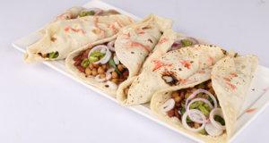 Chickpea Fajitas Recipe | Dawat
