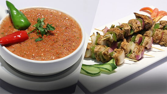 Afghani Chicken Kababs with Chutney   Quick Recipes